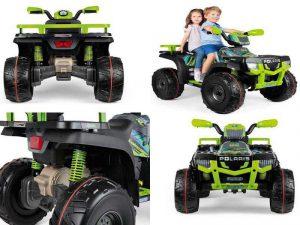 Детский квадроцикл на аккумуляторе Peg-Perego Polaris Sportsman 850 24v D05150