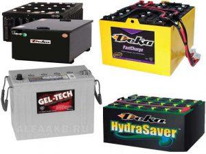 Аккумуляторы Deka для локомотивов, HydraSaver, FastCharge, Gel