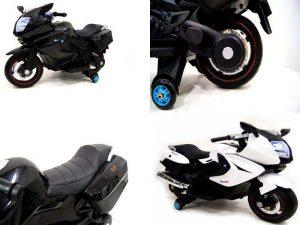 Детский мотоцикл на аккумуляторе RiverToys A007MP