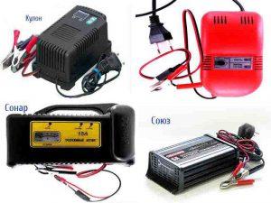 Зарядные устройства для AGM и GEL аккумуляторов скутеров