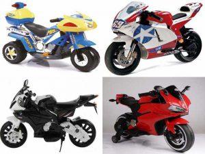Детские мотоциклы на аккумуляторе для разных возрастных категорий