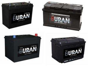 Аккумуляторы Buran