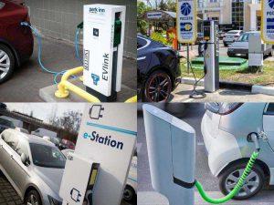 Инфраструктура для электромобилей