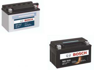 Аккумуляторные батареи для скутеров фирмы Bosch