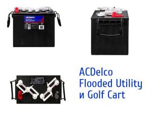 ACDelco Flooded Utility и Golf Cart