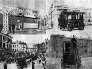 Развитие троллейбусов в России до революции