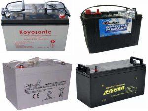Тяговые батареи AGM и GEL