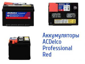 ACDelco Professional Red