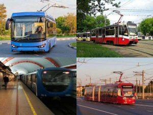 Современные виды городского электротранспорта