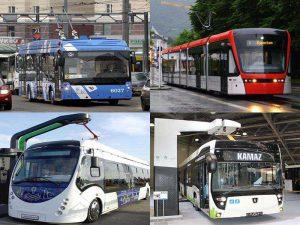 Городской общественный электротранспорт будущего