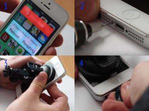 Замена аккумулятора iPhone 5: открываем дисплей