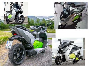 Электроскутер BMW C evolution