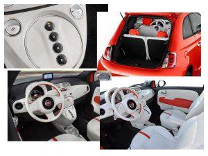Интерьер Fiat 500e