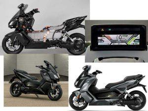 Электрический скутер C evolution от компании BMW