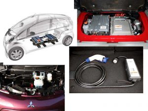 Электромобиль Mitsubishi i-Miev