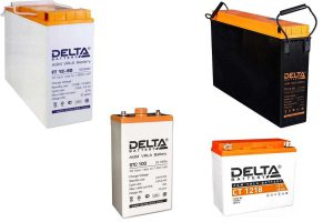 Аккумуляторы Delta FT-M, ST, FTS, STC