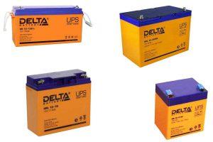 Аккумуляторы Delta HR, HR-W, HRL, HRL-W