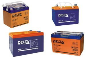 Аккумуляторы Delta GEL и GX