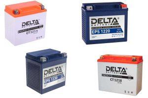 Аккумуляторы Delta CT и EPS