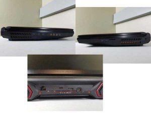 Порты MSI GT75VR Titan Pro