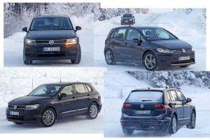 Volkswagen I.D. Crozz на дорожных тестах