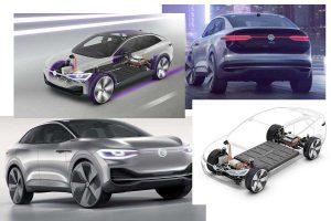 Техническое устройство электрического кросс-купе Volkswagen I.D. Crozz