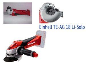 Аккумуляторная УШМ Einhell TE-AG 18 Li-Solo