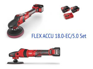 Болгарка FLEX ACCU 18.0-EC/5.0 Set