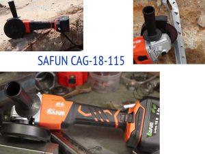 Аккумуляторная болгарка SAFUN CAG-18-115