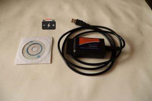 Сканер и диск с ПО