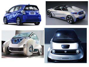 Электромобиль Хонда