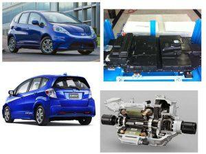 Технические компоненты Honda Fit EV