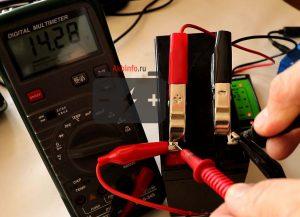 Тестирование AGM батареи