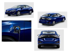 Внешний вид электромобиля Clarity Electric