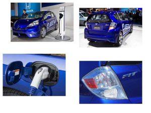 Экстерьер Honda Fit EV