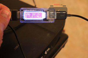 Зарядка телефонного аккумулятора