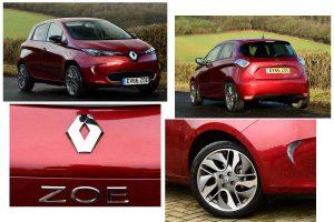 Внешний вид Renault Zoe