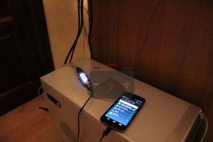 Заряд аккумуляторной батареи смартфона от системного блока
