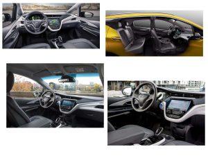 Салон Opel Ampera-e