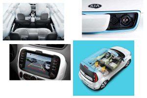 Безопасность и средства управления Kia Soul EV