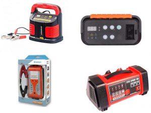 Зарядные устройства для проведения заряда сильно разряженного аккумулятора