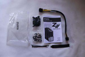 Комплект поставки Zalman Z11 Plus