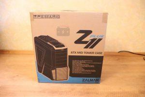 Zalman Z11 Plus поставляется в картонной коробке