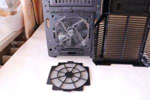 Вентилятор 120 мм на передней панели