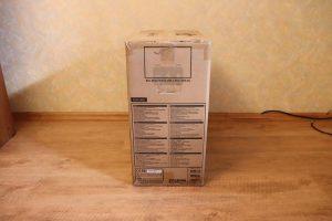 Информация на боковых сторонах коробки