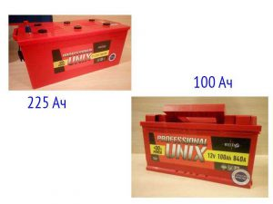 Аккумуляторные батареи Юникс