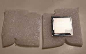 Упаковка CPU Интел Core i7 9700K