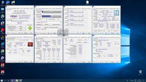 Характеристики Core i7 9700K в программе CPU-Z