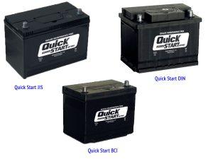 Аккумуляторы Sebang Quick Start