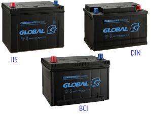 Аккумуляторные батареи Global